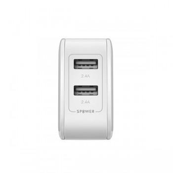 Ładowarka sieciowa USB 4,8A 24W - BlitzWolf