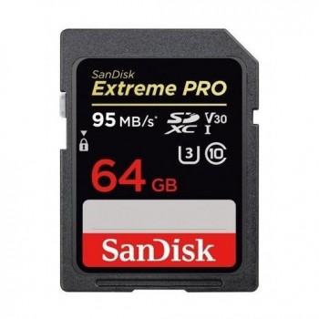 SanDisk Extreme PRO 64GB SDXC 95MB/s