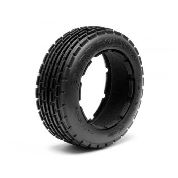 DIRT BUSTER RIB TYRE M COMPOUND (170X60MM/2PCS)