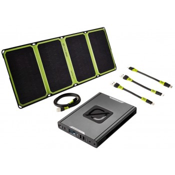 Solar Kit Power Bank Sherpa100 AC with Nomad28 Plus