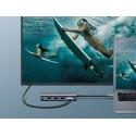 Adapter 8w1 USB-C do HDMI 4K, 3x USB 3.0, Typ-C, RJ45, SD, Micro SD - UGREEN