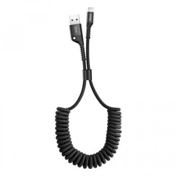 Spring cable data USB