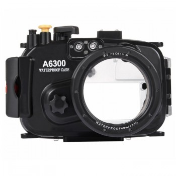 40m Underwater Depth Diving Case Waterproof Camera Housing for Sony A6000 - PULUZ