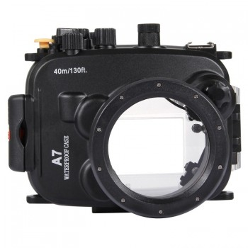 40m Underwater Depth Diving Case Waterproof Camera Housing for Sony A7/A7S/A7R - PULUZ