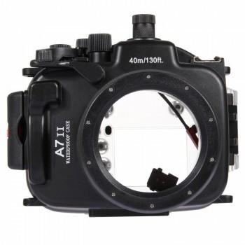 40m Underwater Depth Diving Case Waterproof Camera Housing for Sony A7 II/A7S II/A7R II - PULUZ