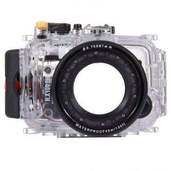 40m Underwater Depth Diving Case Waterproof Camera Housing for Sony RX100 III - PULUZ
