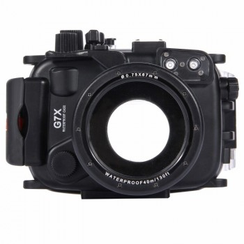 40m Underwater Depth Diving Case Waterproof Camera Housing for Sony RX100 IV - PULUZ