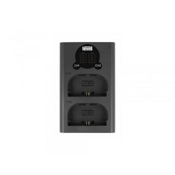Ładowarka dwukanałowa DL-USB-C do akumulatorów LP-E6 - Newell