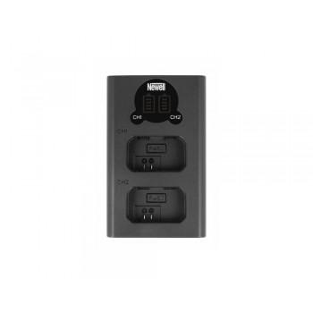 Ładowarka dwukanałowa DL-USB-C do akumulatorów NP-FW50 - Newell