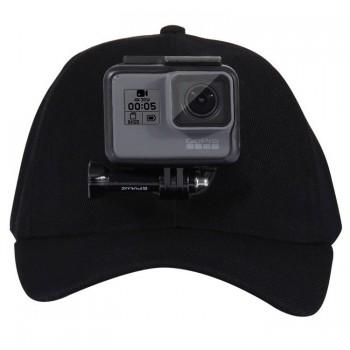 Czapka z mocowaniem dla kamery sportowej - PULUZ