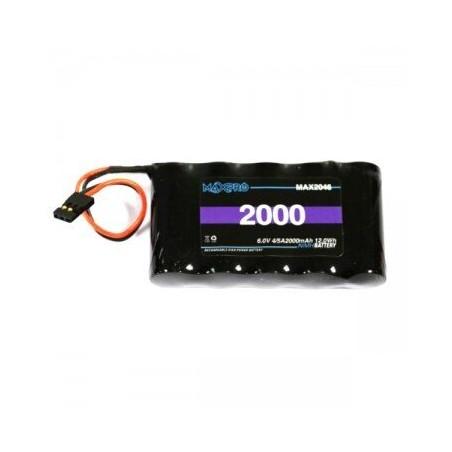 Akumulator NiMh 2000mAh 6V 4/5A 12Wh - MAXPRO - 1