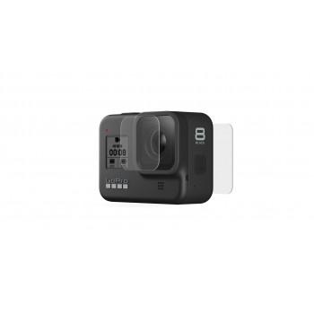 Hartowane szkło na obiektyw i ochrona wyświetlacza - GoPro HERO8 Black - 1