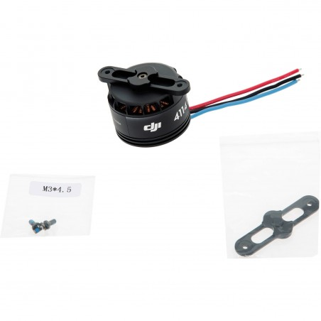 DJI S800 EVO Motor 4114 PRO witch black Prop Cover