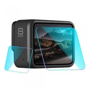 Szkło hartowane na obiektyw i wyświetlacz - GoPro Hero 8 Black - 1