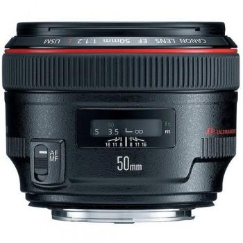 Obiekty Canon 50mm F/1.2 L...