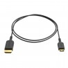 Ultracienki kabel HDMI - Mini HDMI 80cm - 8Sinn - 1