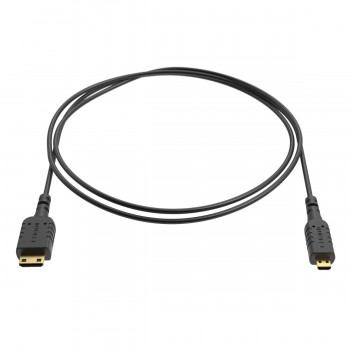 Ultracienki kabel Mini HDMI - Micro HDMI 80cm - 8Sinn - 1