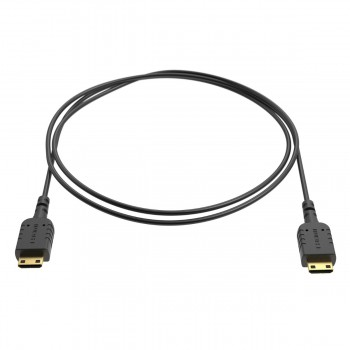 Ultracienki kabel Mini HDMI - Mini HDMI 80cm - 8Sinn - 1