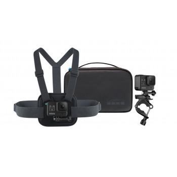 Kamera GoPro HERO8 Black + zestaw sportowy - 1
