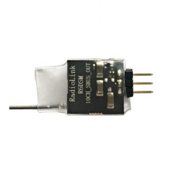 Odbiornik RadioLink R6DSM micro 2.4G 10CH SBUS i PPM - 1