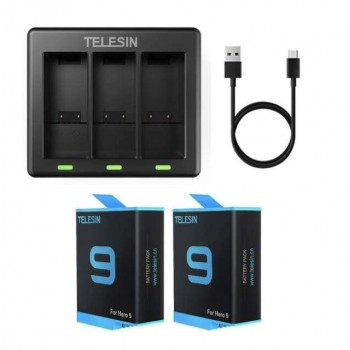 Telesin Battery Charger Kit...
