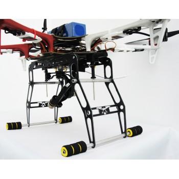 Podwozie składane elektronicznie do F550 z płytką montażową do różnych gimbali