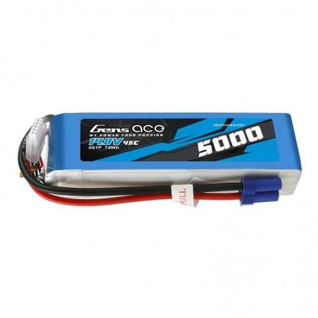 Akumulator Gens Ace 5000mAh 14.8V 45C 4S1P