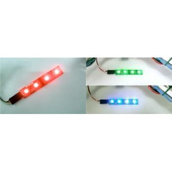 Tylne oświetlenie LED RGB do dronów ze sterownikiem