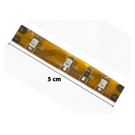 Taśma LED Zewnętrzna kolor czerwony 5cm 3 LED - 1