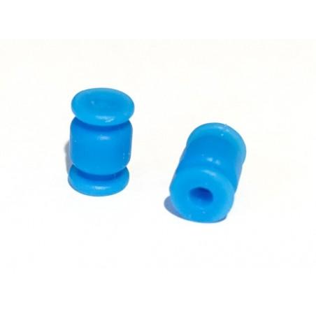 Mini Amortyzatory gumowe niebieskie