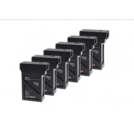 6szt Baterii LiPo 5700mAh TB46S - Matrice 600