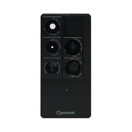 PUZLOOK BASIC Obudowa z optycznym obiektywem dla iPhone 5 Czarna